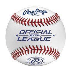 Rawlings ROLB1X Official League Baseball (DZN)