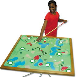 Deluxe Table Top Golf Game Youth 3'x3' (EA)