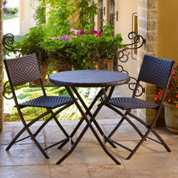 Best Patio Lawn Amp Garden Rst Outdoor 3 Piece Bistro