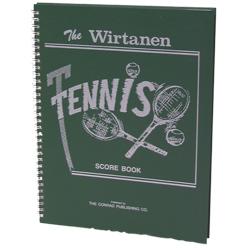 Wirtanen Tennis Scorebook (EA)