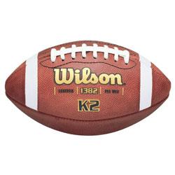 Wilson K2 PeeWee Game Football F1382 (EA)