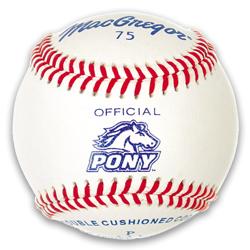 75 Official Pony League Baseball (DZN)