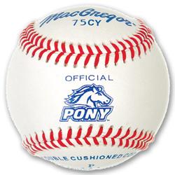 75CY Official Pony League Baseball -Yth (DZN)
