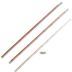 3 Piece 12' Bamboo Fishing Pole (EA)