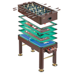 Murrey 10 in 1 multi game table ea for 10 in one games table