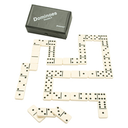 Deluxe Double Six Dominoes with Case (EA) 1238211