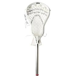 STX AV8U Lacrosse Stick-Attack (EA) - White