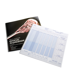 BSN Men's Lacrosse Scorebook (EA)