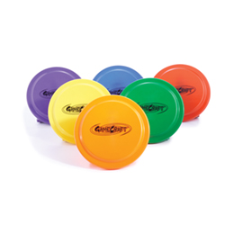 "9"" Plastic Flying Discs Set 1201550"