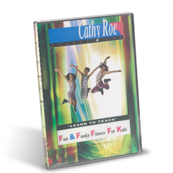 Cathy Roe's Fun&Funky Fitness Kids DVD (EA)
