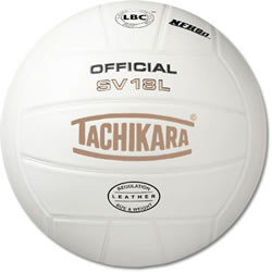 Tachikara SV18L Leather Cover Volleyball