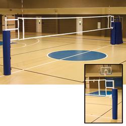 Ultimate Telescopic Aluminum Volleyball System w/o - Dark Green