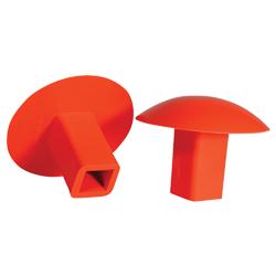 Orange Rubber Anchor Plug