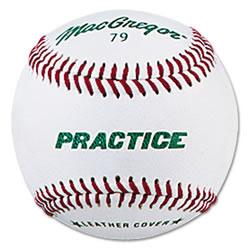 MacGregor #79PY Synthetic Prac Baseball