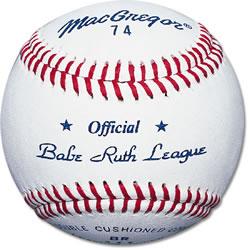 74 Official Babe Ruth Baseball (DZN)