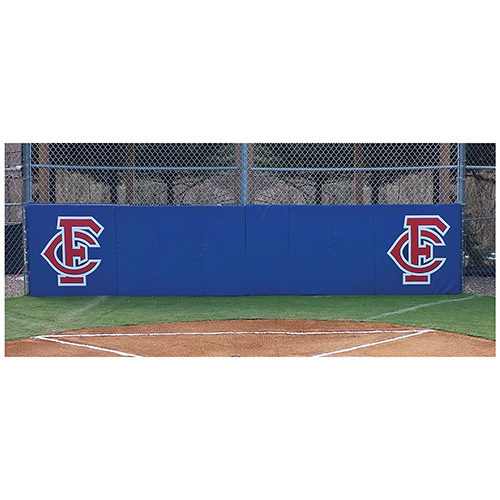 3 foot H x 6 foot L Folding Backstop Padding