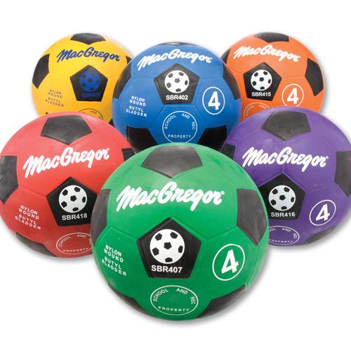 MacGregor   Rubber Soccerballs Size 4