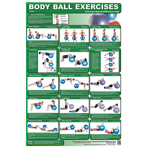 Body Ball Poster Set