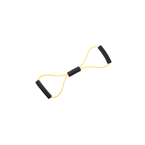 Bowtie Exercise Tubing, Yellow - X-Light, 22 inch