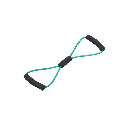 Bowtie Exercise Tubing, Green - Medium, 22 inch