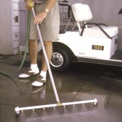 Tennis Court Water Broom