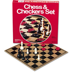 Chess & Checkers for just $10.84