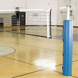 Pro Power Steel Volleyball System w/o Ground Sleev - Royal